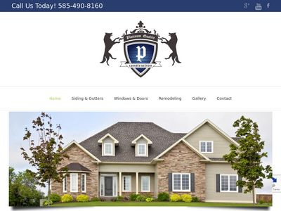 Platinum Quality Construction Website Image